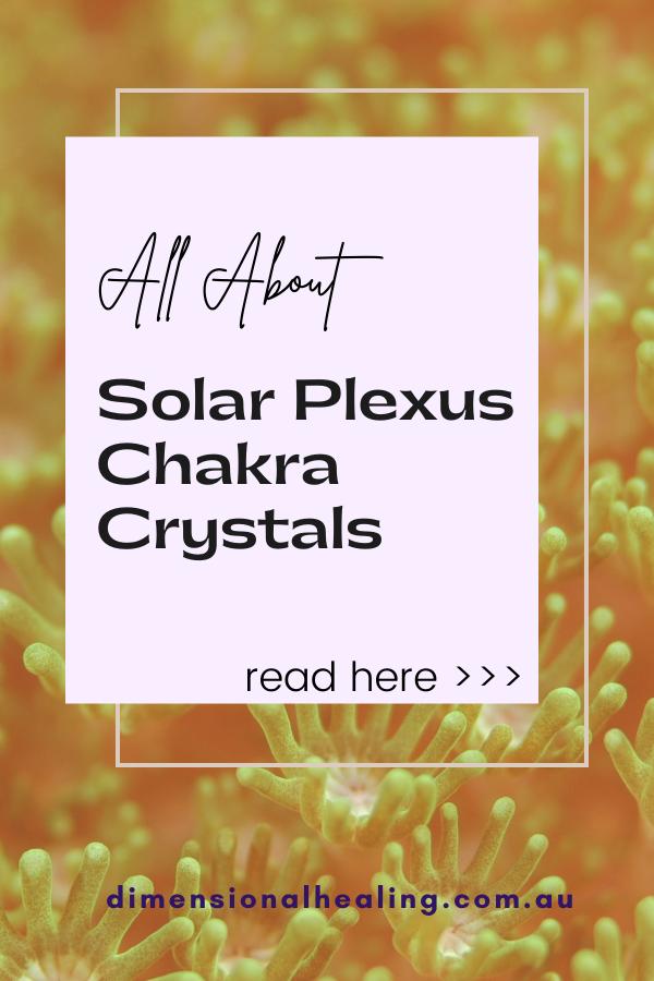 yellow background All About solar plexus chakra stones