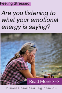 women sitting thinking listening what is your emotional energy saying