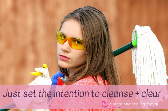 Cleansing and clearing your home simply
