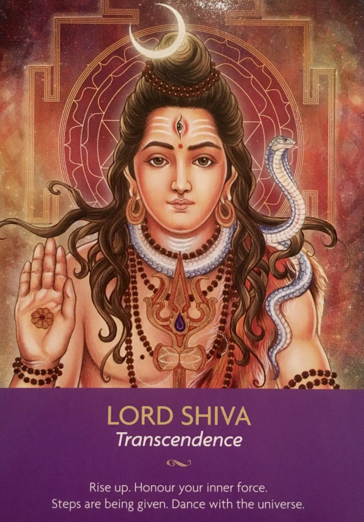 keeper of the light messages Lord Shiva