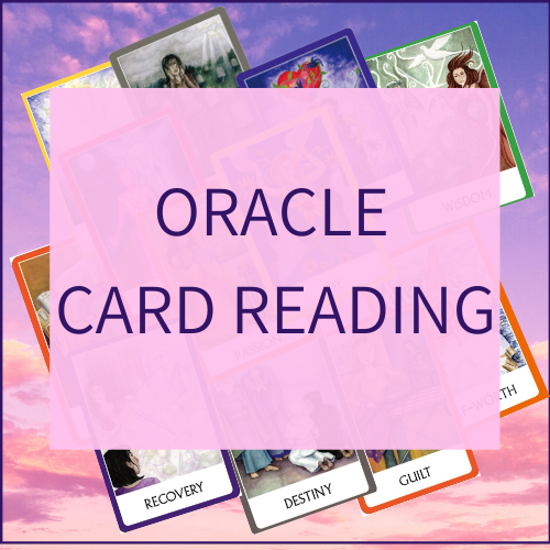Oracle Card Reading to set your intentions