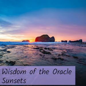 Wisdom of the Oracle Sunset