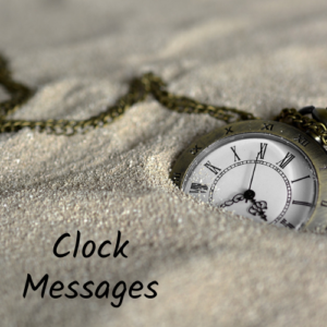 clock messages for you