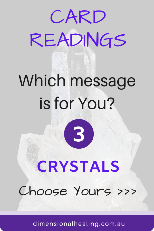 Crystal Earth Magic Oracle Message