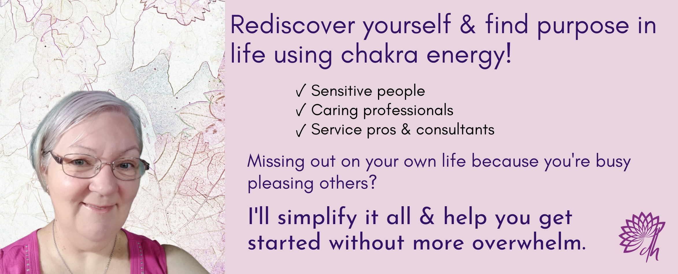 Lorelle teaches sensitive people emotional healing and self discovery strategies. Redesign your life and prioritise yourself using chakra energy