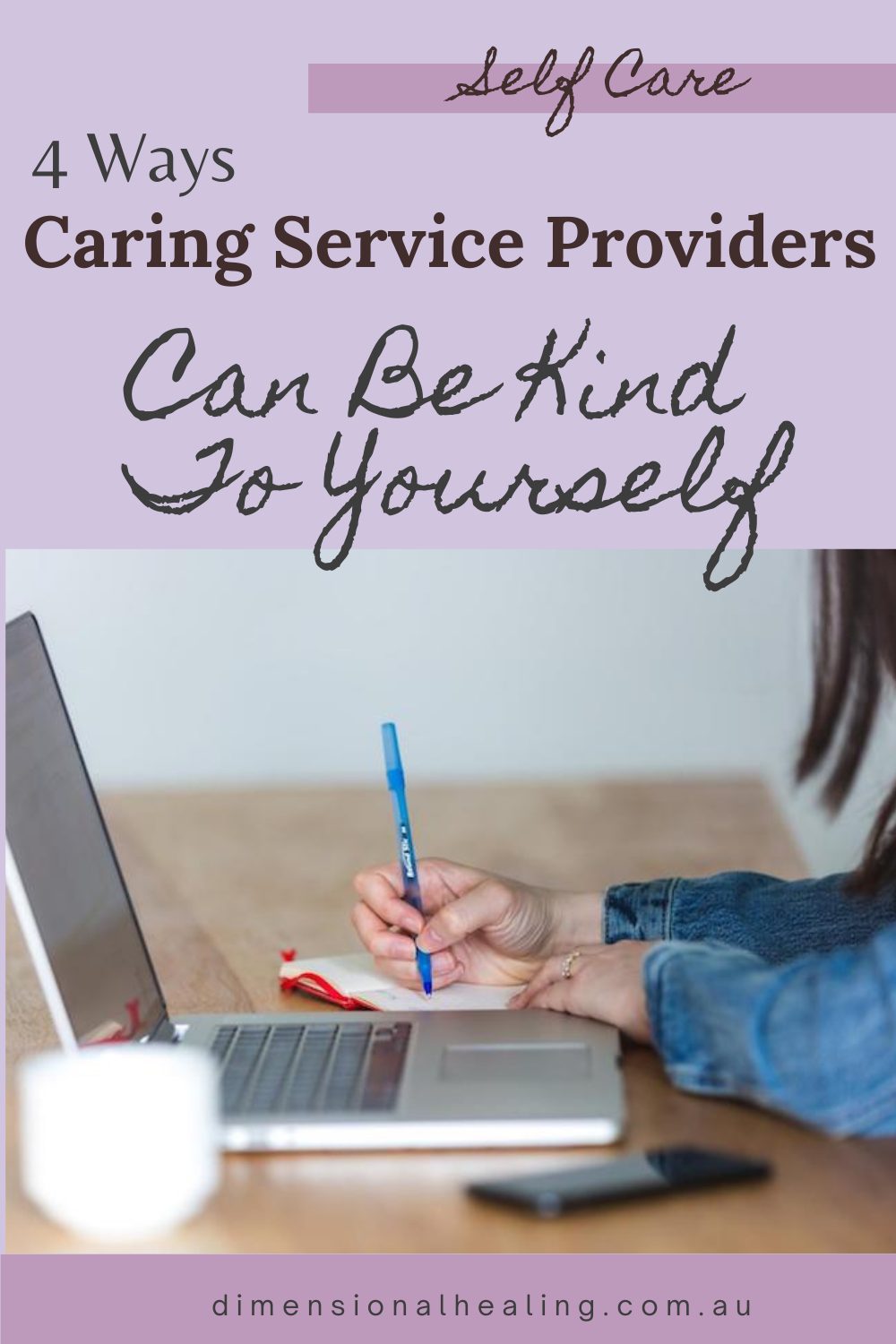Putting self love into practice is self care for caring service providers who focus on providing the best service they can for their clients
