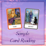 Simple 2 Card Reading